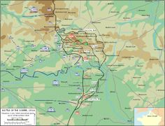 Map of the Battle of the Somme, 1916.svg
