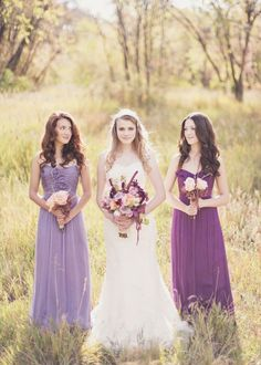 Lilac & Peach: Michelle Leo Events & Urban Chateau Floral www.theperfectpalette.com -  Alixann Loosle Photography