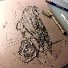Owl Design                                                                                                                                                                                 Más (Beauty Design Drawing)