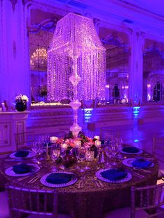 Xquisite Events South Florida's Premiere Event Decor and Production Firm www.xefla.com Photos: Adam Opris  Planner: Jackie Ohh Mar A Lago  Great Gatsby Themed Wedding
