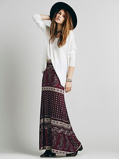 Spell Bohemian Royale Castaway Skirt at Free People Clothing Boutique