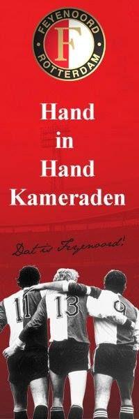 Clublied van Feyenoord: 'Hand in hand. kameraden, ...'