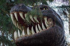 """¡Cómo mola! """"El búho que vive tras las fauces de un Tyrannosaurus rex"""""""