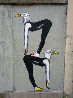 Suriani #StreetArt #Paris #urbacolors