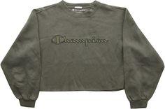 Image of Vintage Champion Cropped Sweatshirt Size Medium
