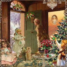 Getting ready for Christmas Joyful226  aw , I wish i had christmas helpers!!!