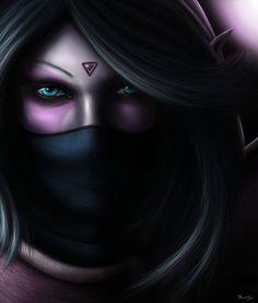 Lanaya, The Templar Assassin - Dota 2 by ~SinnerNym on deviantART #dota2…