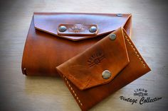 """""""SONIUM LEATHER"""" Vintage Collection. Special Wallet and Notebook Cover"""