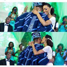 Father-daughter dance  Photo by @gazmadu  #bride #bridal #bridalinspiration #weddings #nigerianwedding #idonigeria #lanreohis2015