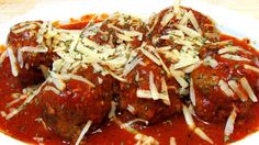 The Wolfe Pit: Italian Meatballs and Tomato Sauce  (Low Carb Reci...