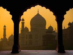 Taj Mahal ~ Agra, India (Photo by Jim Zuckerman)
