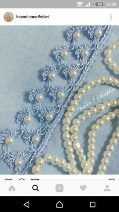 Diy Crafts - This Pin was discovered by Duy Filet Crochet, Crochet Shawl Free, Crochet Borders, Bead Crochet, Crochet Doilies, Crochet Lace, Crochet Stitches, Tatting Patterns, Crochet Patterns