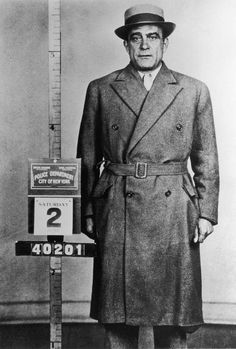 "Mob boss Vito ""Don Vito"" Genovese after his arrest in New York City in 1955. Don Vito went to prison in 1959 for conspiring to import and sell narcotics, specifically heroin. (Photo: Santi Visalli Inc./Getty Images)"