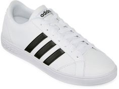 Shop Now - >  https://api.shopstyle.com/action/apiVisitRetailer?id=511369077&pid=uid6996-25233114-59 ADIDAS adidas Advantage 3 Stripe Womens Athletic Shoes  ...