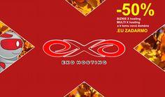 Objednajte si hosting so zľavou 50 percent a k tomu novú doménu .EU zadarmo  Exo 6a4a7fe1fc9