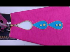 In this video I will show you design making method for your sleeves and Trouser Mohri Everyone can make th. Chudidhar Neck Designs, Blouse Back Neck Designs, Fancy Blouse Designs, Hand Designs, Sleeve Designs, Kurti Sleeves Design, Sleeves Designs For Dresses, Kurta Neck Design, Gold Haram Designs