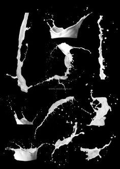 dynamic milk liquid psd hd picture series