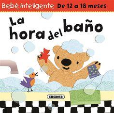 El oso Pancho deja que su madre lo meta en la bañera para evitar caídas, se deja enjabonar y no se enfada cuando se acaba el baño