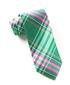 The Director's Plaid Ties - Green | Ties, Bow Ties, and Pocket Squares | The Tie Bar