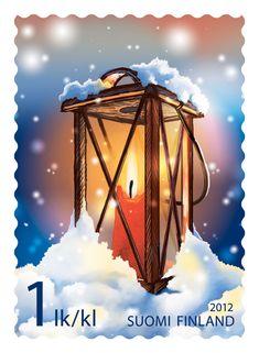 Tallilyhty äänestettiin vuoden 2012 kauneimmaksi postimerkiksi - Jiipeenetti - kouluikäisille tytöille ja pojille