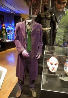 Original costume worn by Heath Ledger as  The Joker in 2008's The Dark Knight