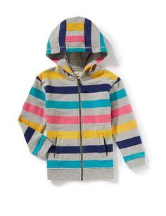 Multi Stripe Hoodie | Peek Kids Clothing