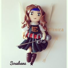 Figurine Zanira la fée pirate