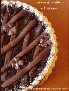 celiachia e fantasia: Crostata al cioccolato di Ernst Knam - senza glutine Gluten Free, Desserts, Food, Fantasy, Glutenfree, Tailgate Desserts, Dessert, Sin Gluten, Postres
