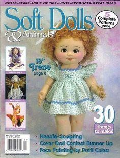 Кукла - девочка. Выкройка. Обсуждение на LiveInternet - Российский Сервис Онлайн-Дневников