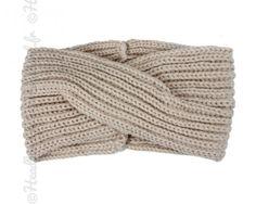 Bandeau cocooning laine beige