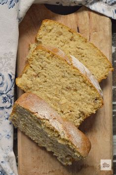 Sin Gluten, Vegan Gluten Free, Healthy Life, Healthy Eating, Cakes And More, Tofu, Sweet Recipes, Banana Bread, Food And Drink