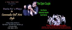 The Dario Fo Season - 'The Open Couple' and 'The Virtuous Burglar' in Commedia Dell'arte Style