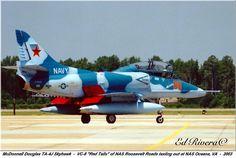 """US Navy TA-4J Skyhawk """"Aggressor"""""""