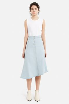 Acne Studios Kady Denim Skirt