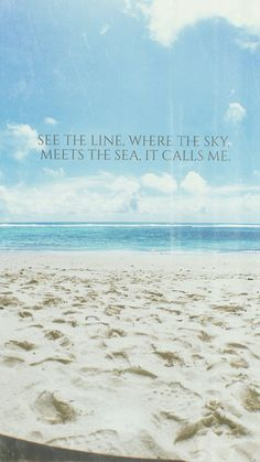 """See the line, where they sky meets the sea, it call me!"" #moana #disney #disneyquotes #moviequotes #quote"