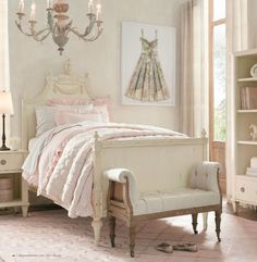 Rh Baby Roselle Twin Bed