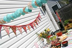 hand stitched living: Maya's Fancy Cupcake Birthday Extravaganza