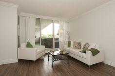 living room. Light colours give more light