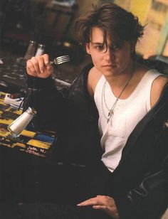Johnny Depp is hot. no doubt about it