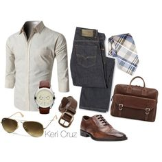 A fashion look from June 2014 featuring Michael Kors, ray ban aviator and leather belt. Browse and shop related looks. | Raddest Men's Fashion Looks On The Internet: http://www.raddestlooks.org