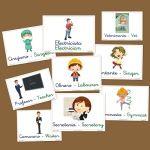 Fichas de infantil: Las profesiones, segunda parte