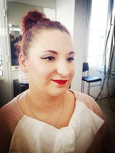 Maquillaje Pin up para cualquier ocasion, sencillo y elegante. #MaquillajeSocial #MaquilladoraProfesional #CristinaGamezMakeUp #PinUp