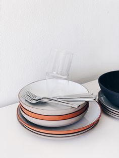 Makeover my dining room table with these beautiful modern tablewaresfrom EQ3.#tablewareset #dinnerware