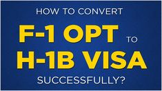 Immigration Webinar: How To Convert F1 Visa To H1B Visa Successfully  #h1bcap #f1opt #capgap #h1blottery #opth1b #stemopt #f1students #optcpt #f1visa