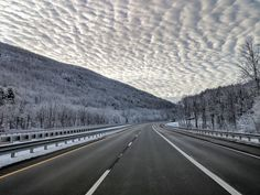 My drive in to work this morning (I-90 in the Berkshire Mountains MA)http://ift.tt/2orF9rK