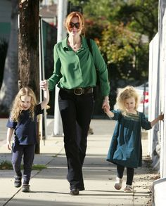 Marcia, Savannah and Eden Beautiful Blue Eyes, Stunningly Beautiful, Emergency C Section, Marcia Cross, Felicity Huffman, Fraternal Twins, Fluffy Sweater, She Girl, Savannah Chat
