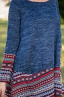 Round Neck Loose Fitting Patchwork Sweaters Winter Outfits Women, Blue Berry Muffins, Sugar Free, Blueberry, Clothes For Women, Crochet, Sweaters, Stuff To Buy, Fashion