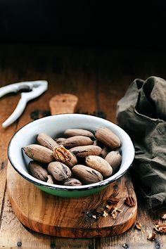 Saveurs Végétales: Salade de butternut rapée, aux noix de pécans et physalis