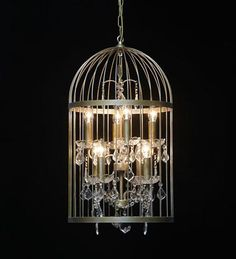 Birdcage chandelier diy google search housey things pinterest birdcage chandelier diy google search housey things pinterest birdcage chandelier chandeliers and google aloadofball Image collections