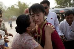 Burma has had a long history of human rights abuses, leading thousands to flee as #refugees. Aung San Suu Kyi, the Nobel Peace Prize winner who was imprisoned for her opposition against the government, was recently elected as a member of parliament in a resounding victory.